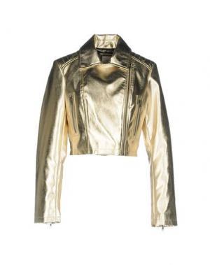 Куртка CENSURED. Цвет: золотистый