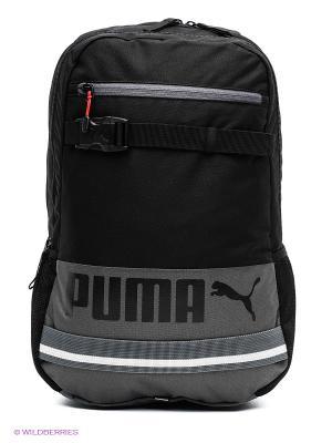 Рюкзак PUMA Deck Backpack. Цвет: черный