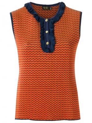 Knit blouse Gig. Цвет: жёлтый и оранжевый