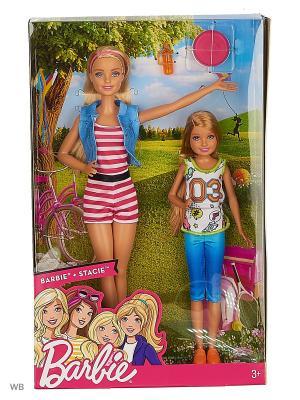 Набор кукол Скиппер и Стейси в ассортименте Barbie. Цвет: синий, красный