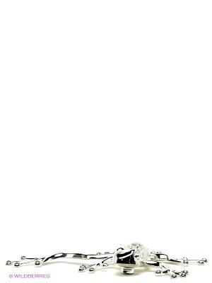 Фигурка на магните Лягушка тропическая Юнион. Цвет: серебристый