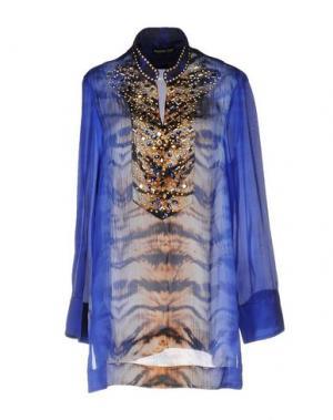 Блузка DANIELA DREI. Цвет: синий