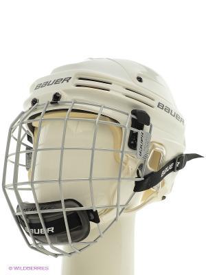 Шлем с маской BAUER 4500 COMBO Взрослый. Цвет: белый