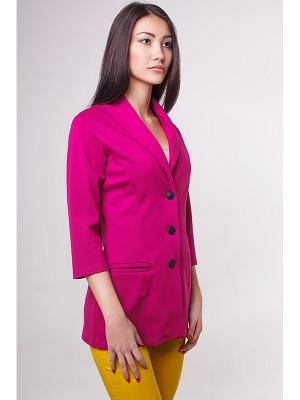 Жакет Formalab. Цвет: розовый
