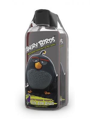 Гель для душа Естественная защита серии Angry Birds 2шт*250 мл. Цвет: черный