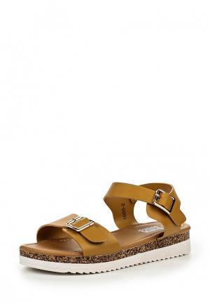 Сандалии Max Shoes. Цвет: коричневый