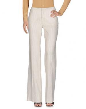 Повседневные брюки ZHELDA. Цвет: слоновая кость