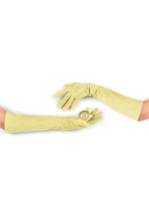 Перчатки Michel Katana. Цвет: лайм