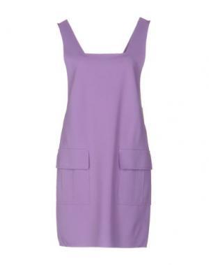 Короткое платье CARLA G.. Цвет: светло-фиолетовый