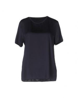 Блузка GUGLIELMINOTTI. Цвет: темно-синий