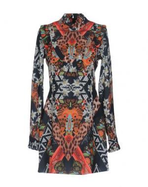 Короткое платье LES ÉCLAIRES. Цвет: черный
