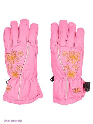 Перчатки Maxval. Цвет: розовый, бежевый