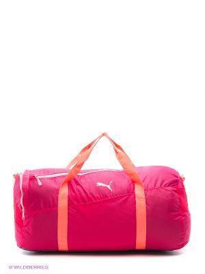 Сумка Fit AT Large Sports Bag Puma. Цвет: розовый