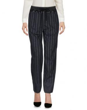 Повседневные брюки YPNO. Цвет: серый