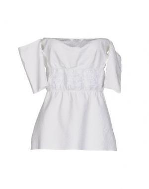 Блузка KRISTINA TI. Цвет: белый