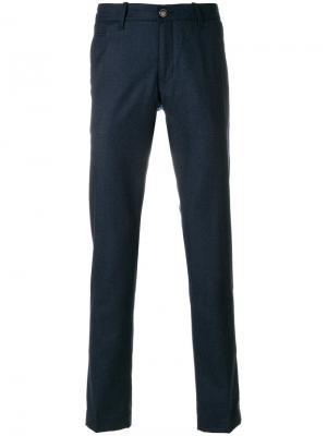 Классические брюки кроя слим Jacob Cohen. Цвет: синий