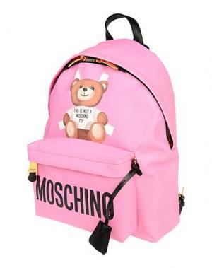 Рюкзаки и сумки на пояс MOSCHINO. Цвет: фуксия