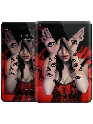 Наклейка на iPad Air The All Seeing - Sarah Joncas Gelaskins. Цвет: красный, черный, бежевый