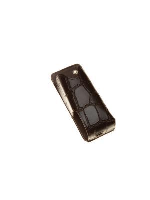 Чехол Time для электронной сигареты, размер 40х22х95 (коричневый крокодил) Timeless. Цвет: коричневый