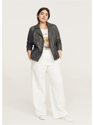 Куртка - ANDREA Violeta by Mango. Цвет: серый