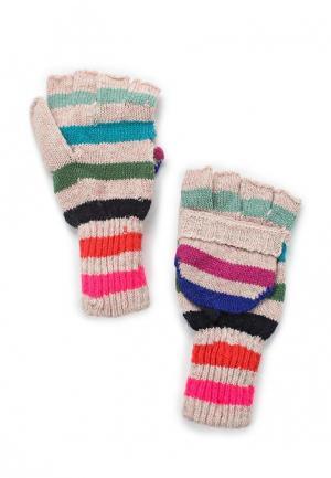 Перчатки Colins Colin's. Цвет: розовый