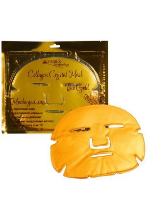 Маска для лица Fabrik Cosmetology. Цвет: золотистый