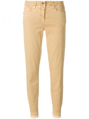 Cropped skinny jeans Luisa Cerano. Цвет: телесный
