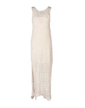Длинное платье SOUVENIR. Цвет: слоновая кость
