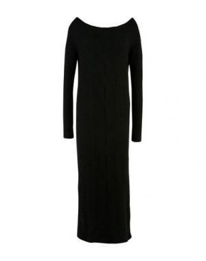 Длинное платье LOU LONDON. Цвет: черный