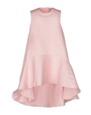 Короткое платье EDIT. Цвет: розовый