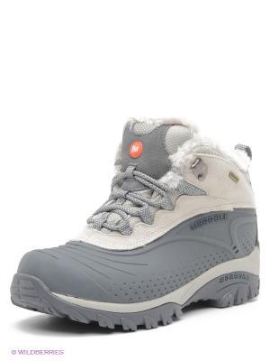 Ботинки MERRELL. Цвет: серый, светло-серый
