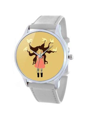 Дизайнерские часы Летать Tina Bolotina. Цвет: желтый, белый
