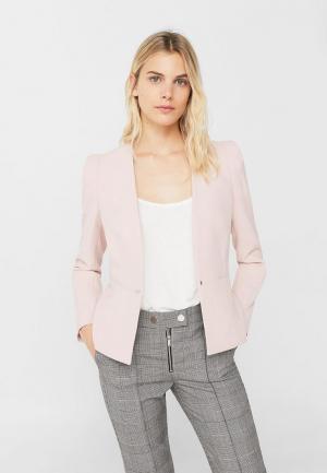 Жакет Mango. Цвет: розовый