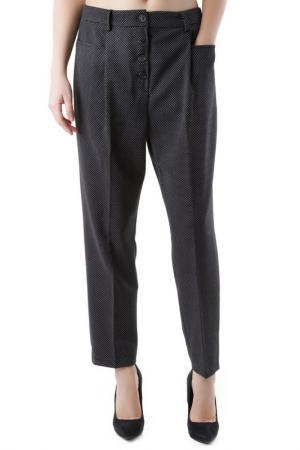 Trousers Cristina Gavioli. Цвет: black