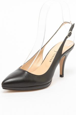 Туфли REBECA SANVER. Цвет: черный