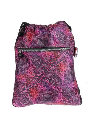 Рюкзак Happy Charms Family. Цвет: розовый, желтый, белый, черный, зеленый