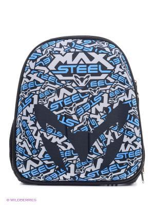 Рюкзак каркасныйMax Steel Centrum. Цвет: голубой, синий