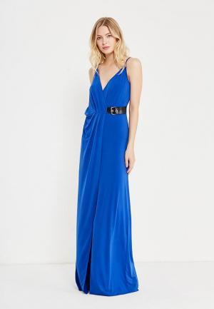 Платье Guess Jeans. Цвет: синий
