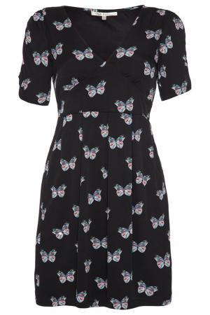 Платье Uttam Boutique. Цвет: черный