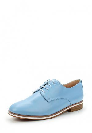 Ботинки Betsy. Цвет: голубой