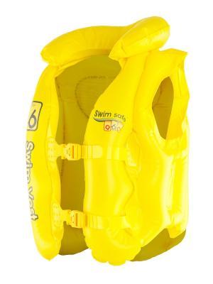 Жилет надувной с подголовником 32034 Bestway. Цвет: желтый