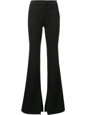 Расклешенные брюки Tibi. Цвет: чёрный