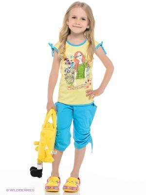 Комплект PEPELINO. Цвет: голубой, светло-желтый