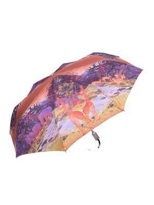 Зонт Stilla s.r.l.. Цвет: оранжевый, сиреневый