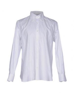 Pубашка GIAMPAOLO. Цвет: белый