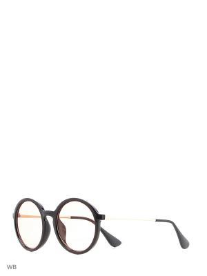 Солнцезащитные очки Vita pelle. Цвет: черный, красный