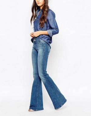 MiH Jeans Расклешенные джинсы скинни M.i.h. Цвет: синий