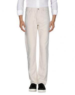 Джинсовые брюки CLUB MONACO. Цвет: слоновая кость