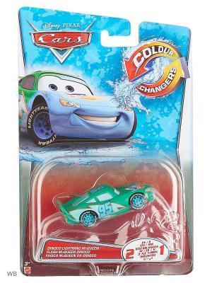 Машинка из серии Disney Cars Mattel. Цвет: синий, бордовый