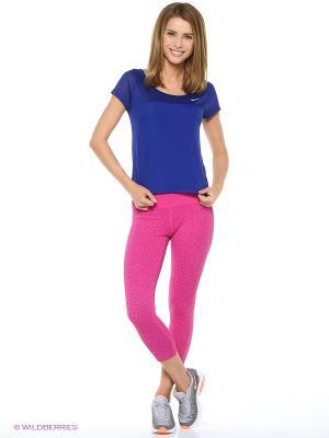 Капри ASICS. Цвет: малиновый, бледно-розовый, розовый